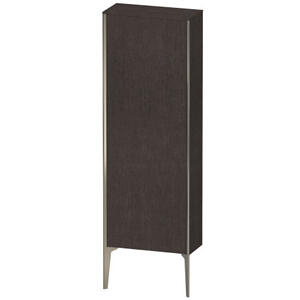 Semi-tall Cabinet Floorstanding, Brushed Dark Oak (real Wood Veneer)