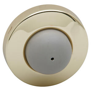 Door Accessories  Wall Door Stop - Bright Brass Product Image