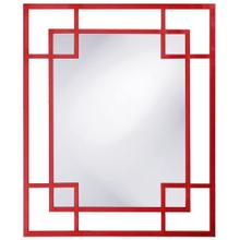 Lois Mirror - Glossy Red