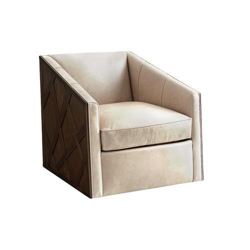 Sullivan Leather Swivel Chair