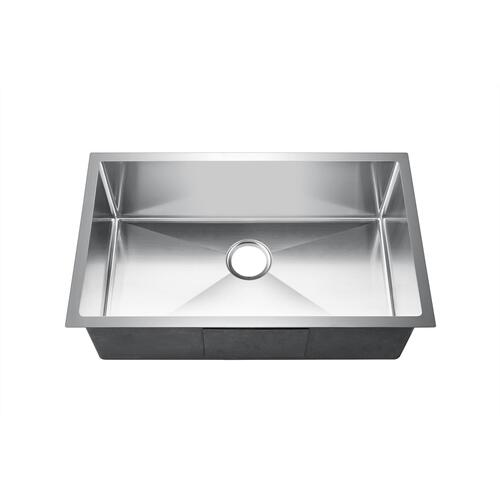 Donahue Single Bowl Stainless Kitchen Sink
