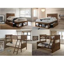 3015 Ashland Youth Twin/Twin Bed Brown