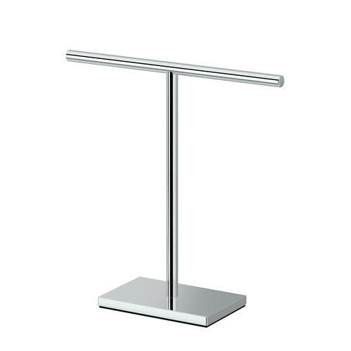 Counter Top Hand Towel Holder in Chrome