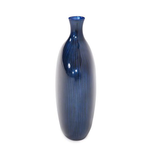 Sleek Cobalt Blue Vase - Small