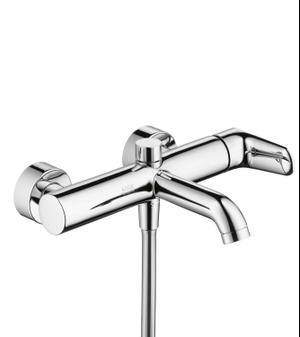 Chrome Single lever bath mixer for exposed installation Product Image