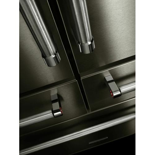 "KitchenAid - 25.8 Cu. Ft. 36"" Multi-Door Freestanding Refrigerator with Platinum Interior Design - Stainless Steel"