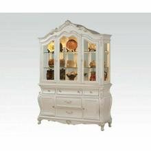 ACME Chantelle Hutch & Buffet - 63544 - Pearl White