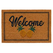 See Details - Doormat Two Pineapples Natural 24x36