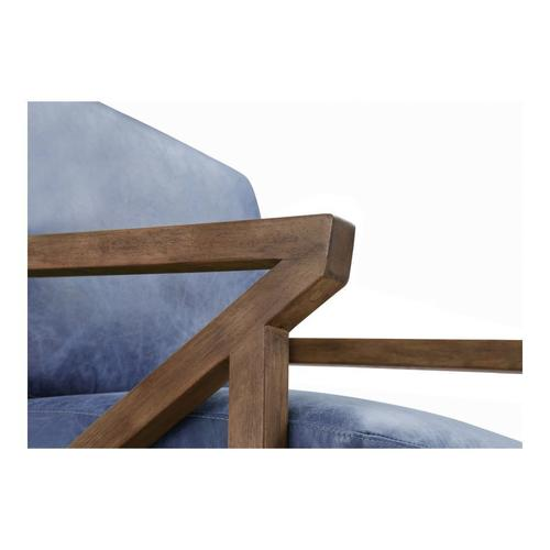 Moe's Home Collection - Drexel Arm Chair Blue