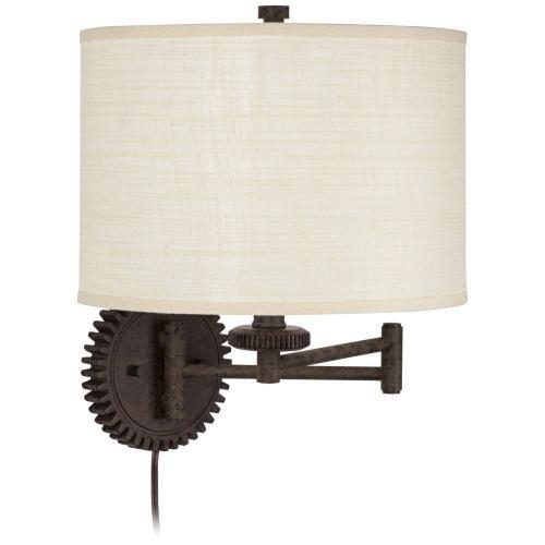 Livingston Industrial Gear Wall Lamp (89-5772-68)