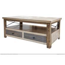 See Details - 4 Drawers Cocktail Table