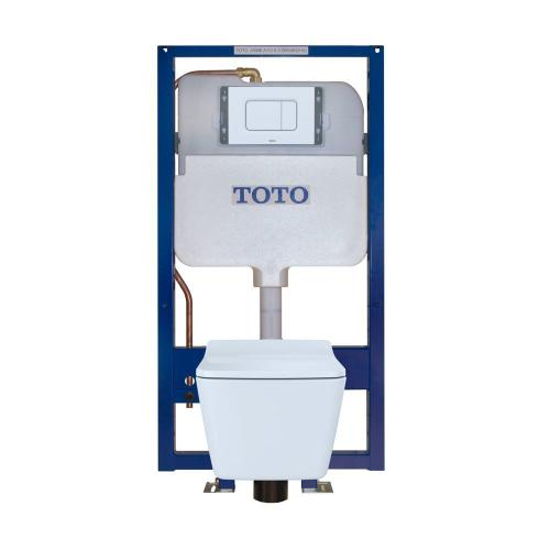 SP™ Wall-Hung Toilet & In-Wall Tank System - 1.28/0.9 GPF - White