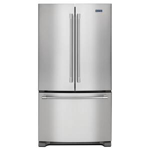 36-Inch Wide French Door Refrigerator - 25 Cu. Ft. -