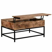 See Details - Ojas Lift-Top Coffee Table in Natural Burnt