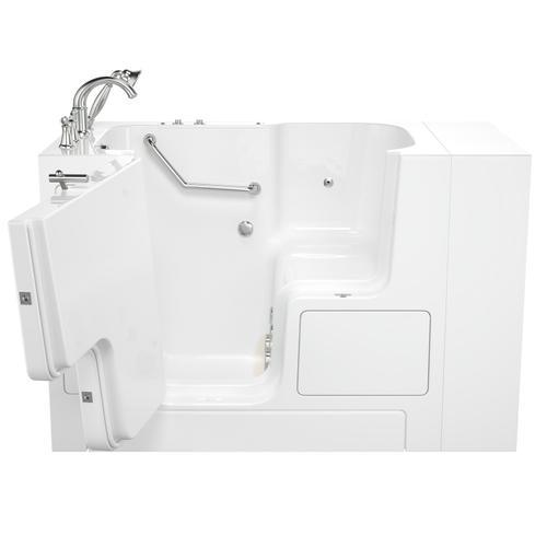 Gelcoat Value Series 32x52 Walk-in Whirlpool Tub  American Standard - White