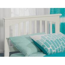 Mission Headboard Twin White
