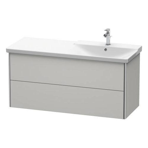 Vanity Unit Wall-mounted, Nordic White Satin Matte (lacquer)