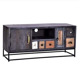 See Details - Console - Multi/Iron Finish