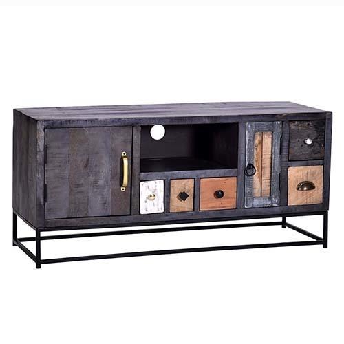 Progressive Furniture - Console - Multi/Iron Finish