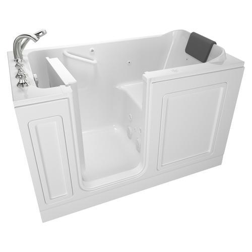 Acrylic Luxury Series 32x60 Whirlpool System Walk-in Tub, Left Drain  American Standard - White
