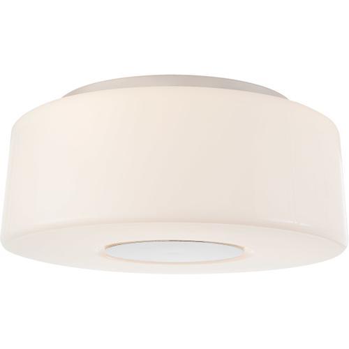 Barbara Barry Acme 3 Light 16 inch Polished Nickel Flush Mount Ceiling Light, Large
