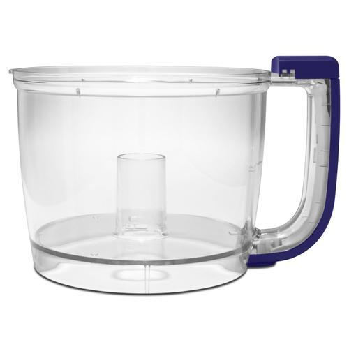 KitchenAid - Work Bowl for 7-Cup Food Processor Cobalt Blue