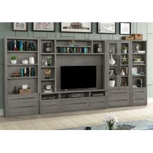 See Details - PURE MODERN 5pc Entertainment Wall