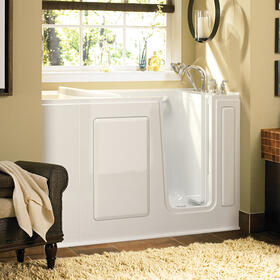 Gelcoat Value Series 28x48-inch Walk-in Soaking Tub  American Standard - White