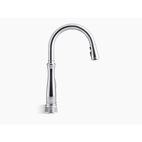 Oil-rubbed Bronze Touchless Pull-down Kitchen Sink Faucet