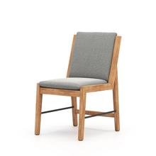 Faye Ash Cover Garson Outdoor Dining Chair
