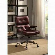 ACME Larisa Executive Office Chair - 92027 - Vintage Merlot Top Grain Leather Product Image