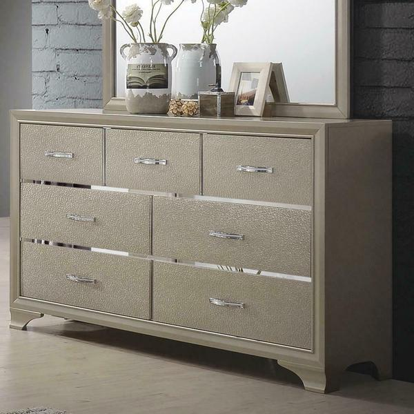 See Details - Beaumont Transitional Champagne Dresser