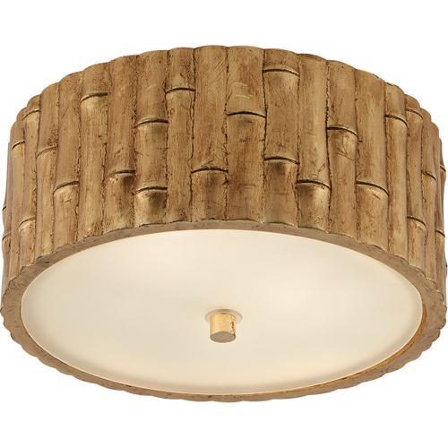 Visual Comfort - Alexa Hampton Frank 2 Light 11 inch Gild Flush Mount Ceiling Light