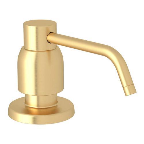 Holborn Deck Mount Soap Dispenser - Satin English Gold