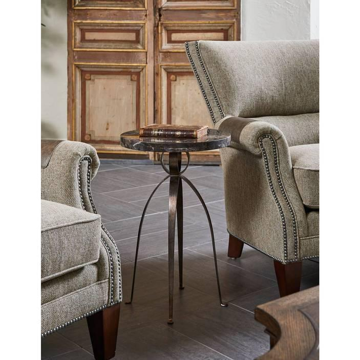 Thoroughbred Julip Martini Table - Grey Marble