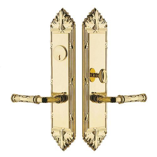 Lifetime Polished Brass Fenwick Entrance Trim