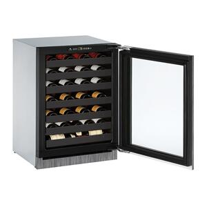 "U-LINE24"" Wine Refrigerator With Integrated Frame Finish (230 V/50 Hz Volts /50 Hz Hz)"