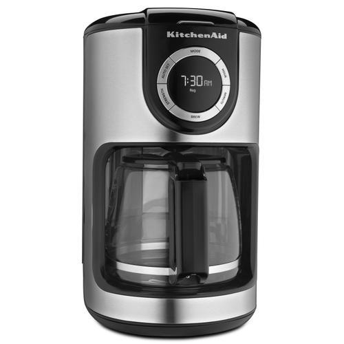 KitchenAid - 12 Cup Coffee Maker Onyx Black