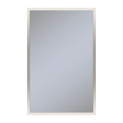 """Profiles 19-1/4"""" X 30"""" X 6"""" Framed Cabinet In Polished Nickel and Non-electric With Reversible Hinge (non-handed)"""