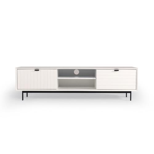 VIG Furniture - Nova Domus Valencia White TV Stand
