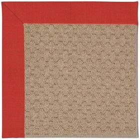 Creative Concepts-Grassy Mtn. Dupione Crimson Machine Tufted Rugs