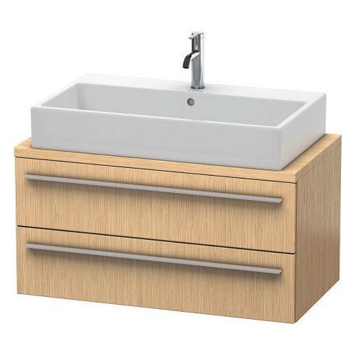 Duravit - Vanity Unit For Console Compact, Brushed Oak (real Wood Veneer)