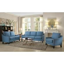 ACME Zapata Sofa - 53550 - Blue Linen