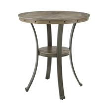 Franklin Pub Table Pewter
