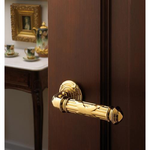 Baldwin - Lifetime Polished Brass 5122 Estate Lever