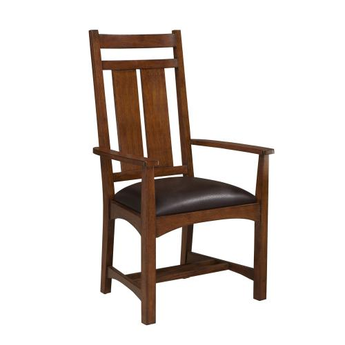 Intercon Furniture - Oak Park Wide Slat Arm Chair