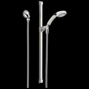 White Fundamentals 2-Setting Glide Rail Hand Shower Product Image
