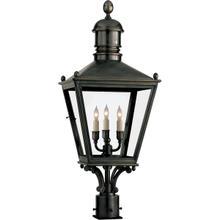 E. F. Chapman Sussex 3 Light 30 inch Bronze Outdoor Post Lantern