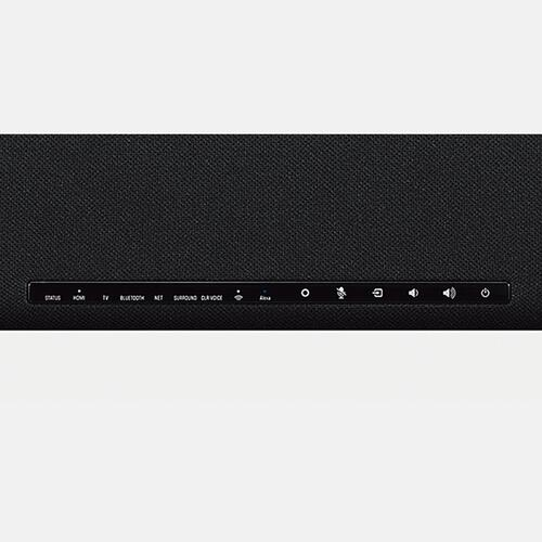 YAS-109 Black Sound Bar with Built-in Subwoofers and Alexa Built-in