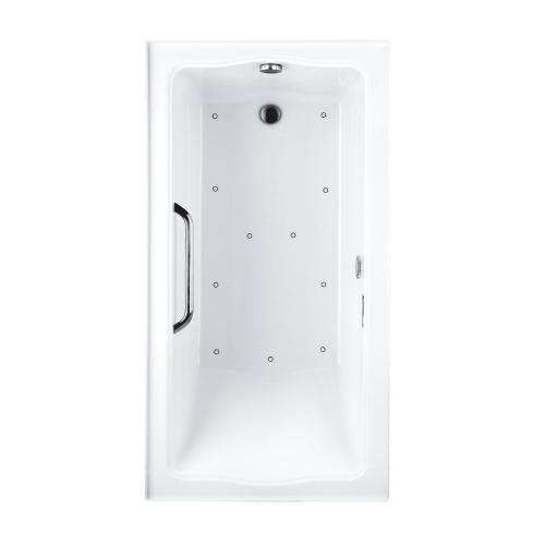 """Product Image - Clayton Tile-in Air Bath 60"""" x 32"""" x 24-7/8"""" - Cotton"""